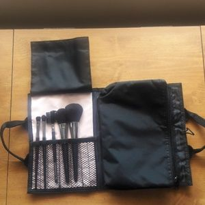 Mary Kay Cosmetic Brush & Makeup Bag